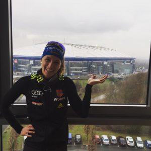 Vanessa Hinz Biathlon auf Schalke 2016 (1)