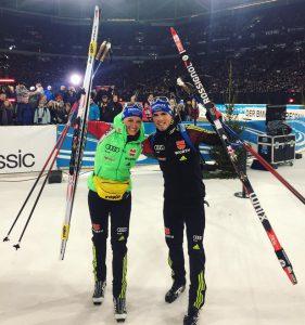 Vanessa Hinz Biathlon auf Schalke 2016