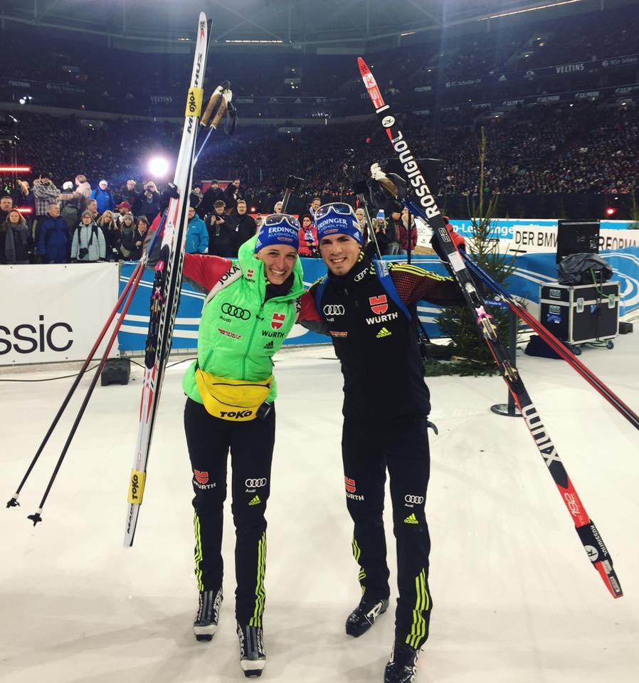 Vanessa Hinz Erfolge Biathlon auf Schalke 2016