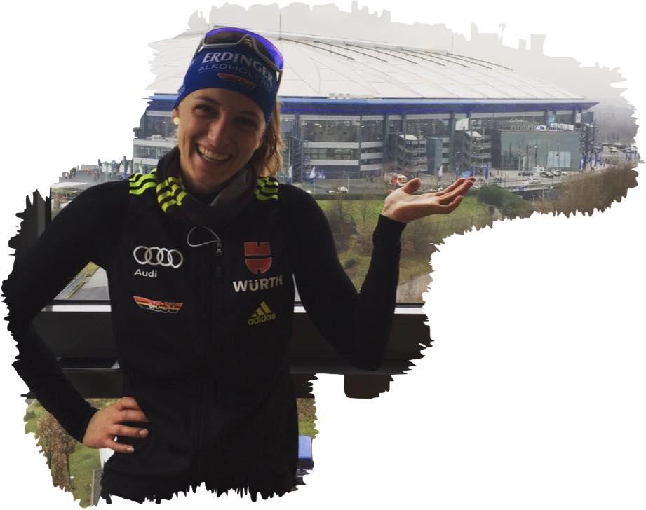 Vanessa Hinz Biathlon auf Schalke 2016 (1) 2