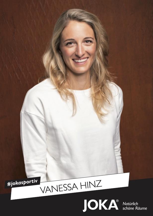 Vanessa Hinz Autogrammkarte